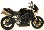 STREET TRIPLE 675 & R 2007-08: R&G Crash Protectors - Aero Style. R&G CP0217BK Black or White